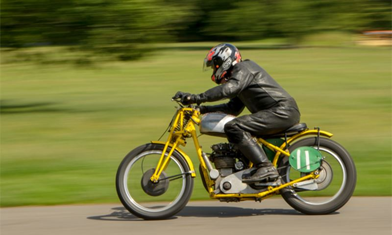 Vintage motorcycle event takes place at Aske Estate for inaugural event